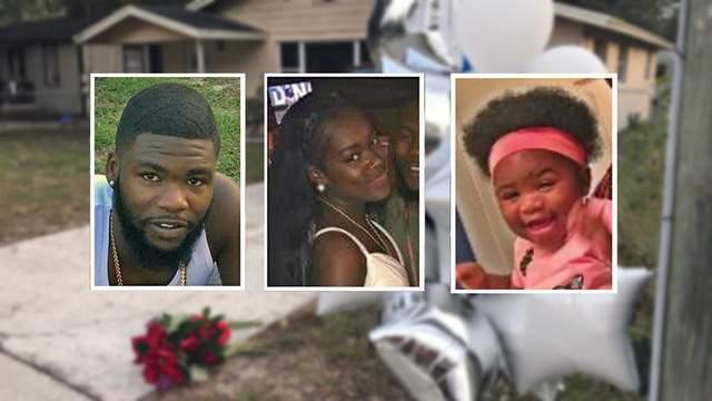 Quasean Trotter, Ariyan Johson, their baby girl, Arielle, were found dead in their home