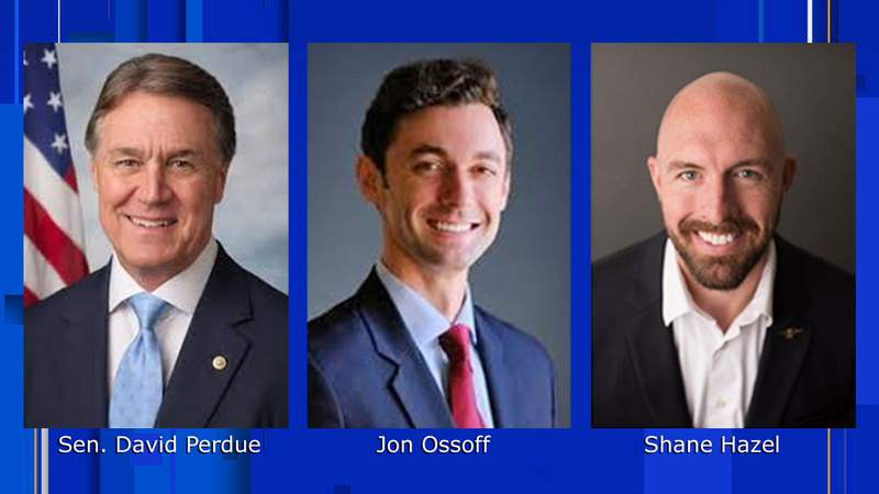 Candidates for six-year term in the U.S. Senate from Georgia.