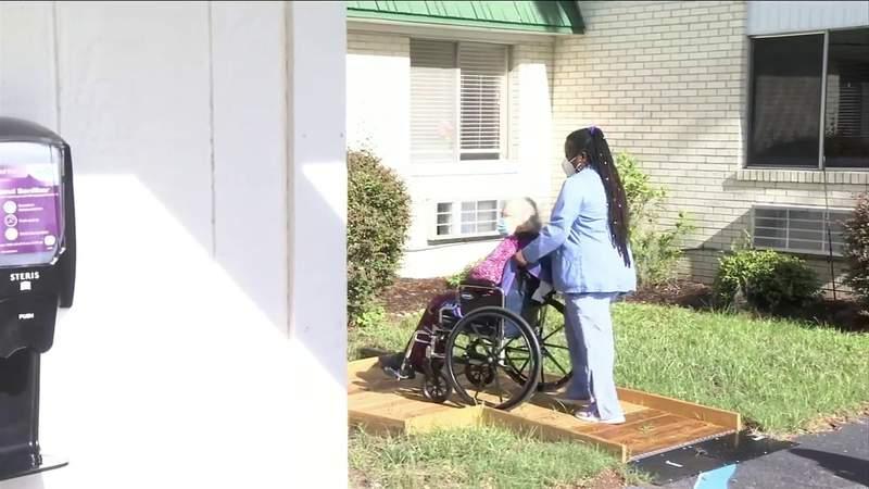 Southeast Georgia care centers set up cottages for senior visits
