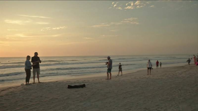 St. Johns County beaches reopen for physical activity