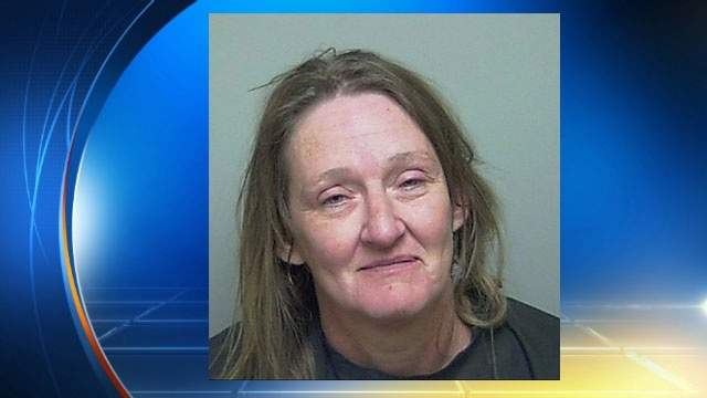 Putnam County Sheriff's Office booking photo of Linda Blount