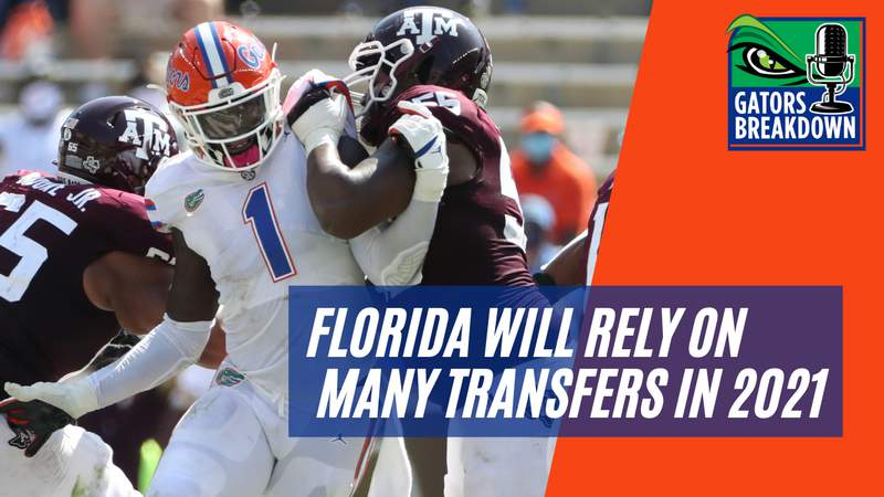 Brenton Cox is just one of over 10 transfers that Florida will count on this fall