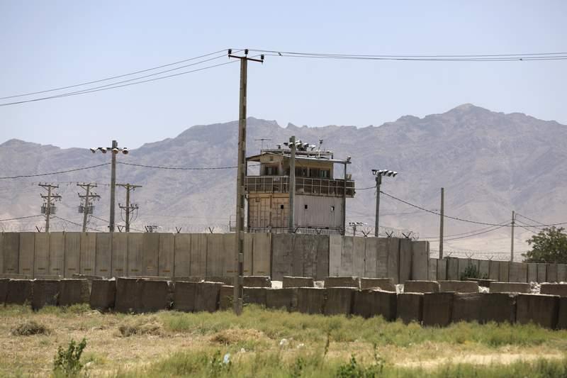 File photo of Bagram Air Base in Afghanistan.