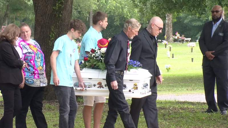 The visitation and funeral for James Reese Jr. were held Tuesday.