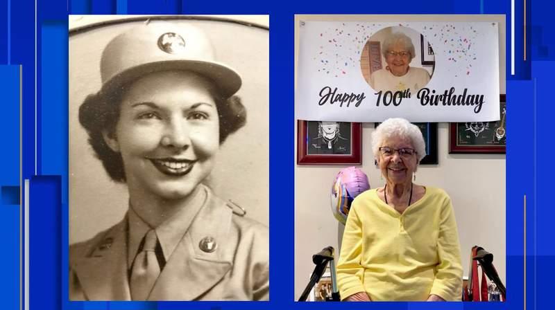 """WWII veteran Winifred """"Winnie"""" Mills"""