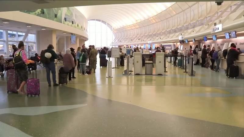 Air traffic delayed due to COVID-19 sanitation