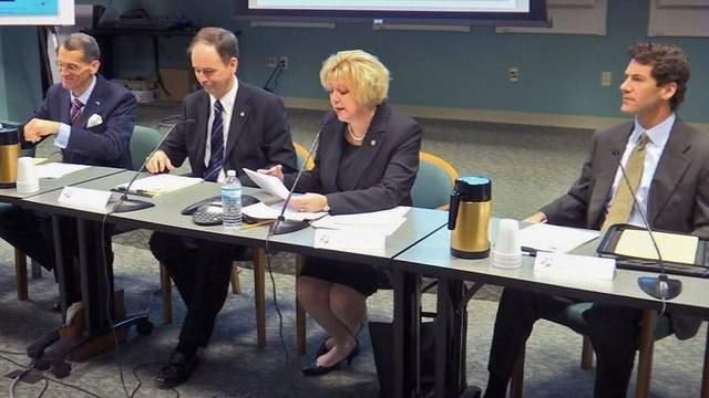 Rep. Janet Atkins addresses workshop on Jacksonville Police and Fire Pension Fund