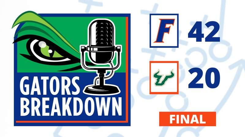 Gators defeat Bulls 42-20