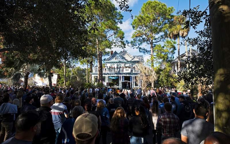 Jacksonville PorchFest in Springfield Historical District, Jacksonville.