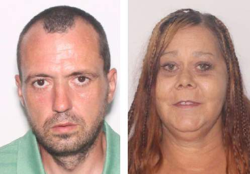 Photos provided by Lake City Police Department. Left: Kevin Rogers Right: Charlotte Nobles