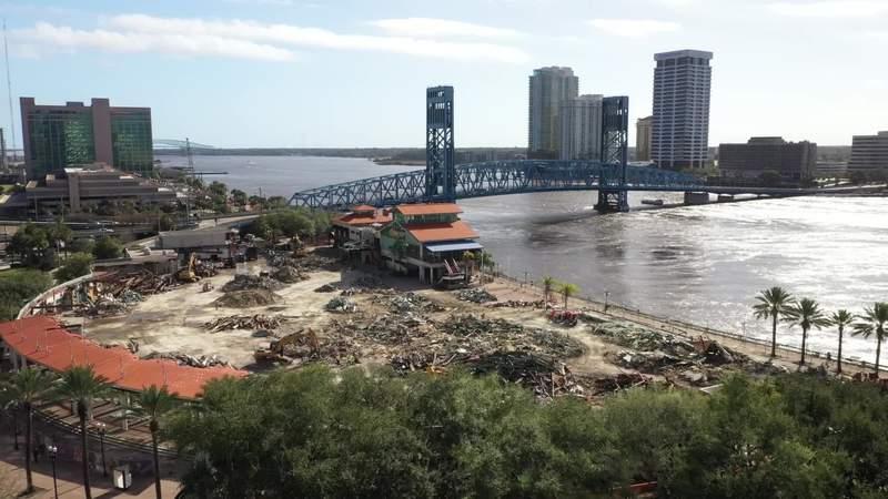The Jacksonville Landing as of Dec. 27, 2019.