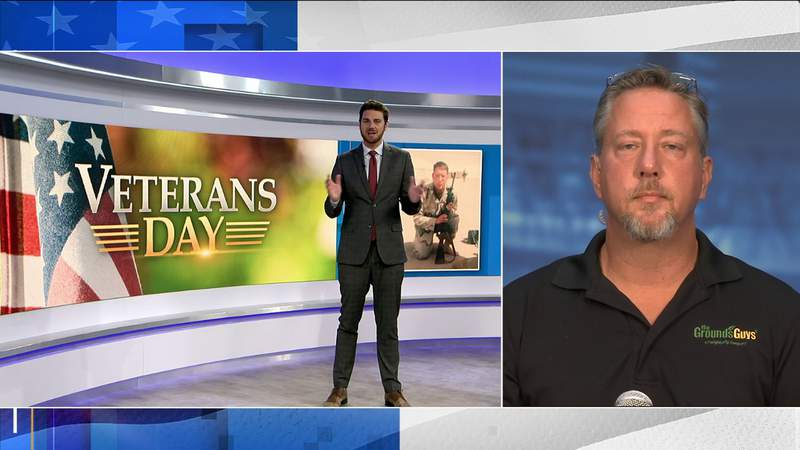 Veteran and small business owner talks about his story