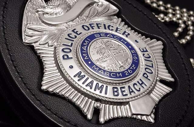 Miami Beach Police badge