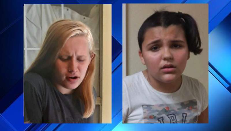 Sarah Weisbrodt (14 years old) & Kiyli Terrebonne (12 years old)