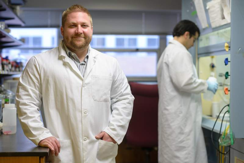 Halogenated phenazine small molecules could lead to critical advances in the treatment of antibiotic-resistant bacteria. The promising results originated from research led by Dr. Rob Huigeins in the UF College of Pharmacy and were featured in the American Chemical Society's Journal of Medicinal Chemistry.