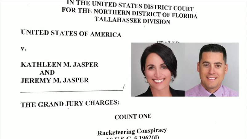 Florida couple charged with stealing state trade secrets