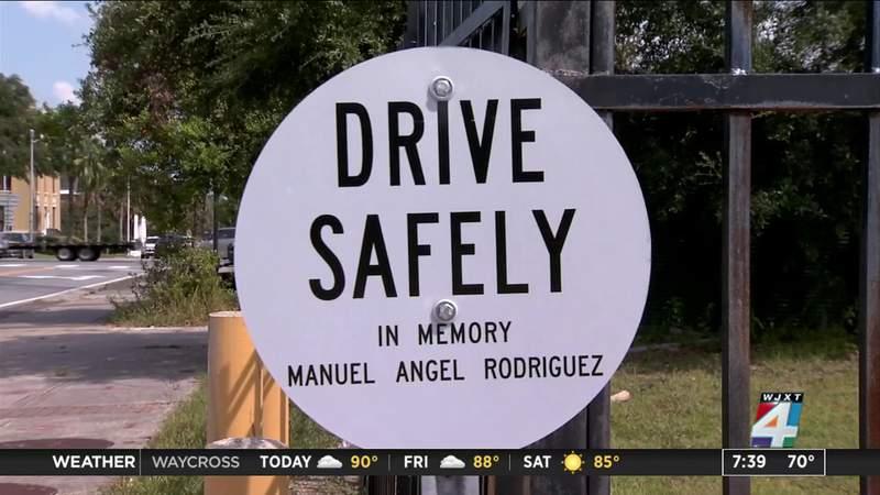 Roadside memorials set up to honor crash victims
