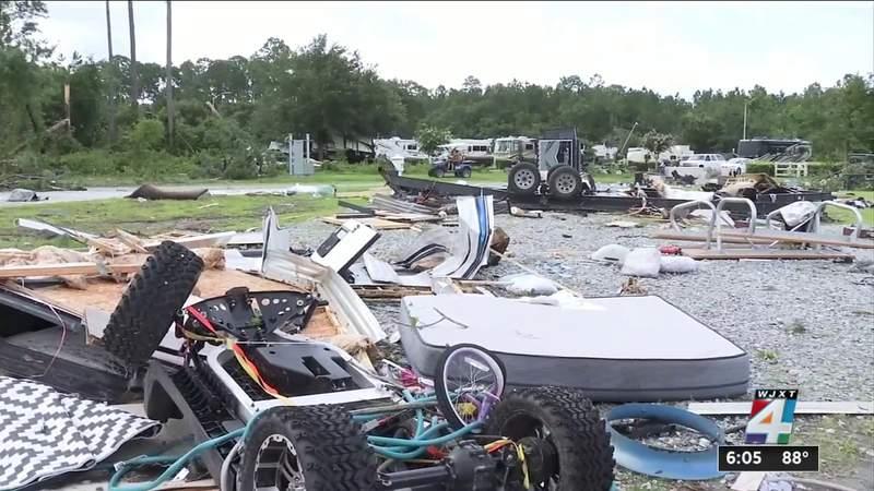 EF-2 tornado spawned near Kings Bay had peak windspeeds of 130 mph