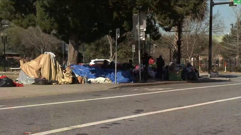 As Jacksonville homeless camp grows, city hopes to gain more funding