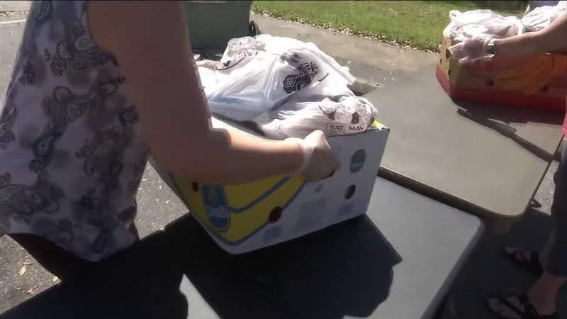 Beaches Emergency Assistance Ministry hosted its monthly food pantry