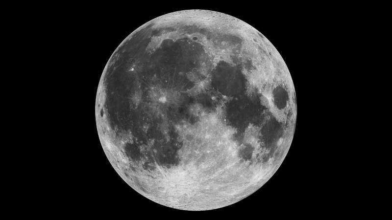 """This composite image of the moon using Clementine data from 1994 is the view we are most likely to see when the moon is full. Credit: NASATo learn about NASA's LRO project go to: http://www.nasa.gov/mission_pages/LRO/main/index.html<b><a href=""""http://www.nasa.gov/centers/goddard/home/index.html"""" rel=""""nofollow"""">NASA Goddard Space Flight Center</a></b>  contributes to NASA's mission through four scientific endeavors: Earth Science, Heliophysics, Solar System Exploration, and Astrophysics. Goddard plays a leading role in NASA's endeavors by providing compelling scientific knowledge to advance the Agency's mission.  <b>Follow us on <a href=""""http://twitter.com/NASA_GoddardPix"""" rel=""""nofollow"""">Twitter</a></b>  <b>Join us on <a href=""""http://www.facebook.com/pages/Greenbelt-MD/NASA-Goddard/395013845897?ref=tsd"""" rel=""""nofollow"""">Facebook</a></b>"""