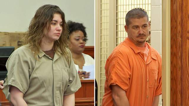 Lonna and Chris Barton make Baker County court appearance Tuesday morning.