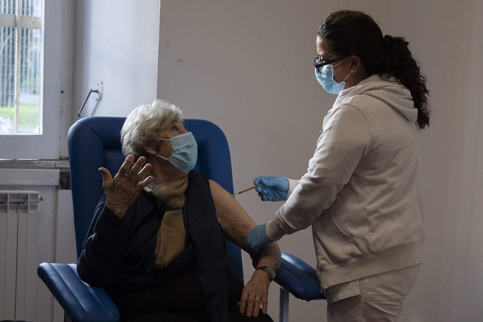 Italy teachers balk at AstraZeneca vaccine plans