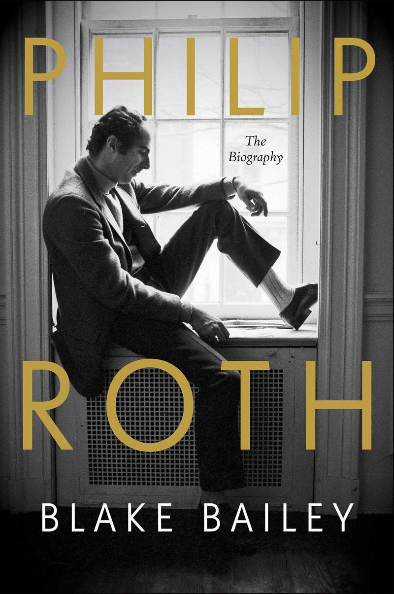 """This mage released by W.W. Norton shows """"Philip Roth: The Biography"""" by Blake Bailey, expected next April. (W.W. Norton via AP)"""
