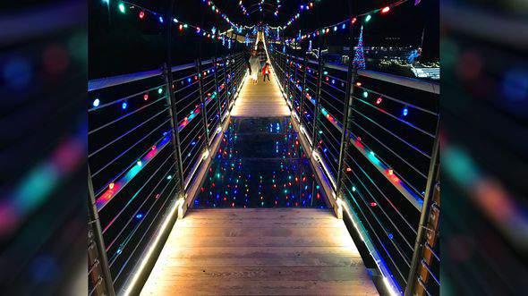 A look at Lights Over Gatlinburg (Gatlinburg SkyLift)