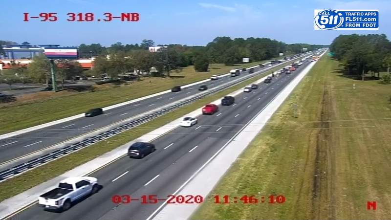 03-15 Crash on northbound I-95