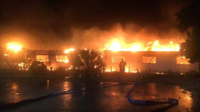 Photo via Fernandina Beach Fire Department