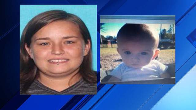 Mary Fritz, 28, is believed to have taken 6-month-old Romani Pagan-Fritz, police said.