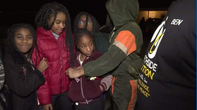 Missing 8-year-old girl was found safe and reunited with her family after being spending the night at a friend's house.
