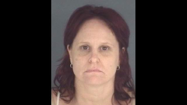 Clay County Sheriff's Office booking photo of Hope Gibbons
