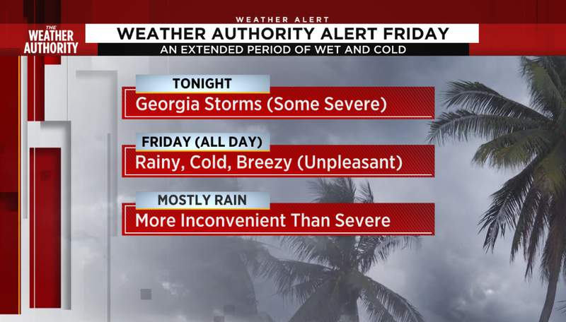 Friday is a Weather Authority Alert Day