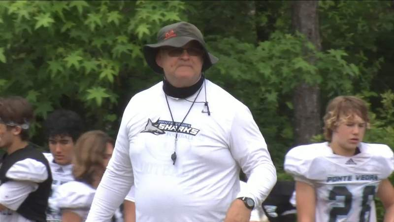 New coach putting his stamp on Ponte Vedra football team