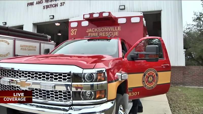 Jacksonville firefighters now told where COVID-19 positive patients live