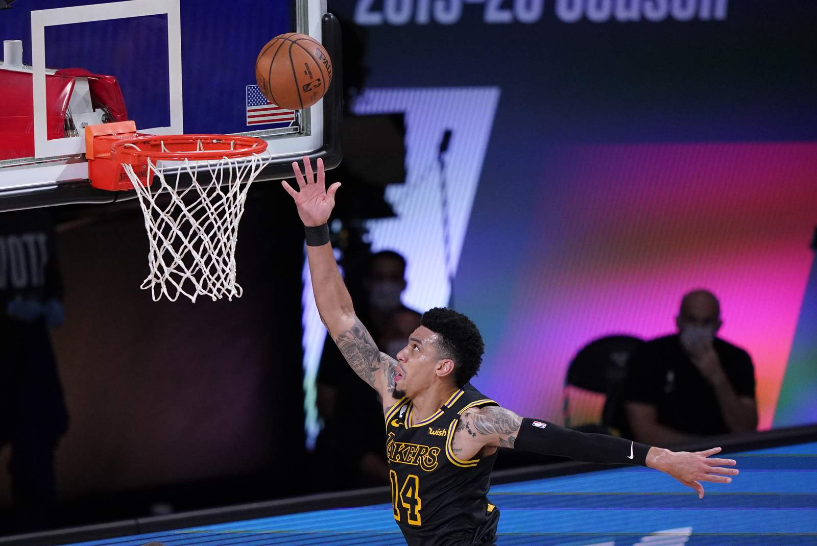 Comforts Of Nba Bubble Not Lost On Lakers Danny Green