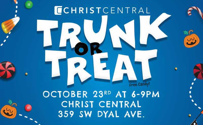 Trunk or Treat 2020 in Columbia County