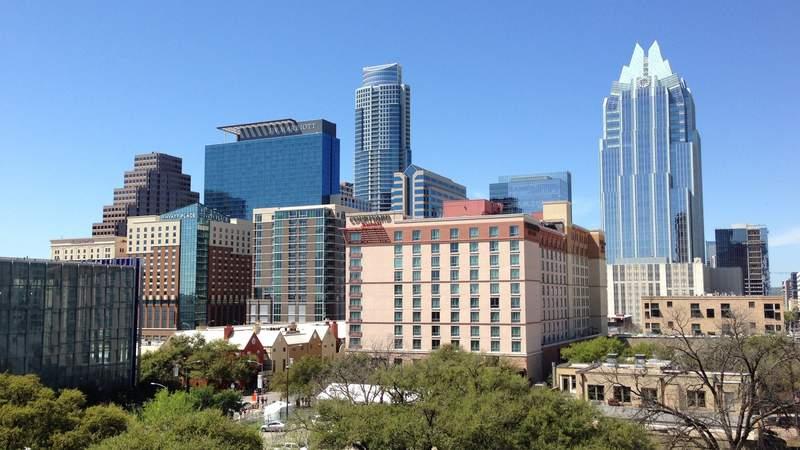 Austin skyline.