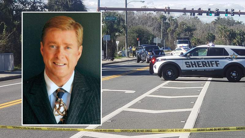 Tim O'Brien was killed while riding his bicycle Monday in a chain-reaction crash on A1A in Ponte Vedra Beach.