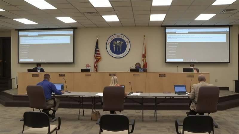 Nassau teachers share worries with school board