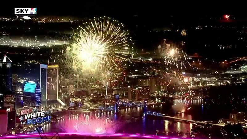Jacksonville fireworks show