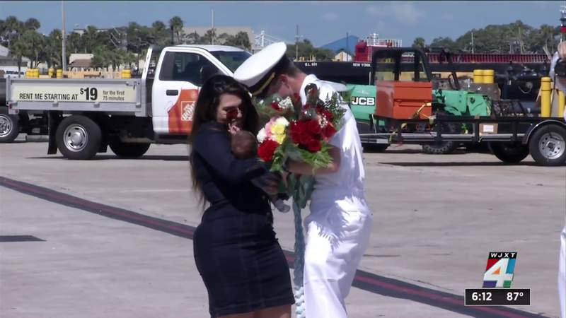 U.S.S. Thomas Hudner returns from first deployment