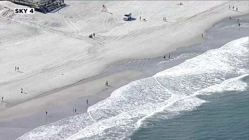 Governor praises reopening of Duval beaches