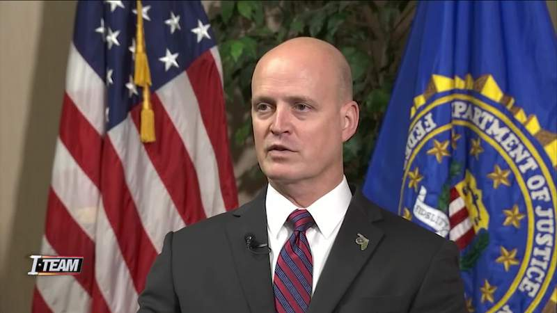 Mark Hoffman, assistant special agent in charge of the FBI's Jacksonville division