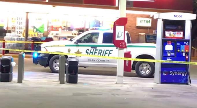 The Clay County Sheriff's Office investigates a robbery at the Circle K on County Road 16A Saturday night.