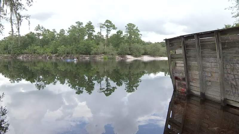 As of Tuesday, the St. Marys River north of Macclenny was at 11.2 feet.