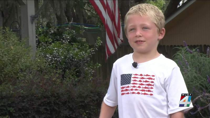 Boy swims ashore, family rescued after separated from boat