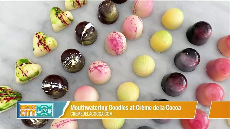 Mouthwatering Goodies at Creme de la Cocoa   River City Live
